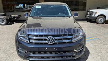 Volkswagen Amarok Trendline 4x4 TDi usado (2018) color Azul Electrico precio $579,000