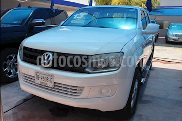 Volkswagen Amarok Entry 4x4 TDi usado (2013) color Blanco precio $310,000
