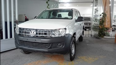 Volkswagen Amarok Entry 4x2 Gasolina usado (2015) color Blanco Candy precio $239,000
