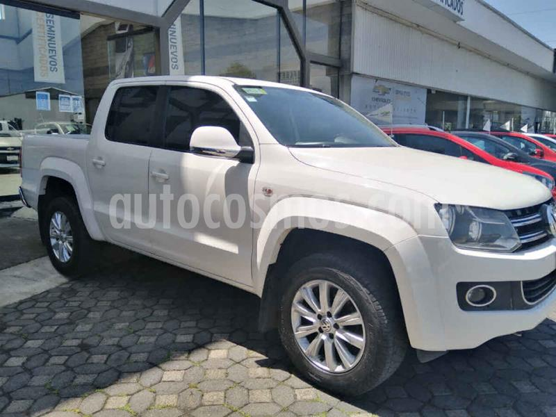 Volkswagen Amarok Highline Aut 4Motion  usado (2016) color Blanco precio $385,000