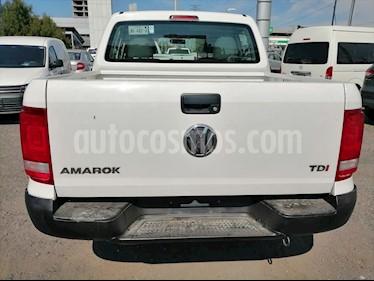 Volkswagen Amarok ENTRY 4X2 TDI / A/A usado (2016) color Blanco precio $254,000