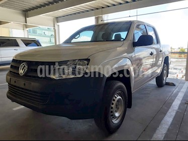 Volkswagen Amarok Entry 4x2 TDi  usado (2017) color Blanco precio $290,000
