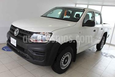 Volkswagen Amarok 4p Trendline L4/2.0/TDI Man 4x4 usado (2018) color Blanco precio $405,000