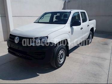 Volkswagen Amarok Trendline 4x4 TDi usado (2018) color Blanco precio $393,000