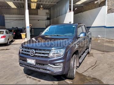 Volkswagen Amarok Highline Aut 4Motion 2.0L usado (2018) color Azul Starlight precio $549,000