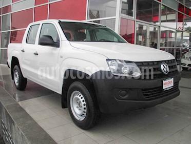 Volkswagen Amarok Entry 4x2 TDi  usado (2015) color Blanco precio $259,000