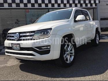Volkswagen Amarok 4P HIGHLINE 4 MOTION V6 3.0TD TA CLIMATRONIC RA-1 usado (2018) color Blanco precio $560,000