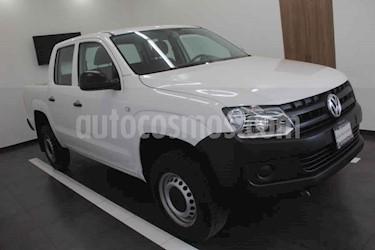 Volkswagen Amarok Entry 4x2 TDi  usado (2017) color Blanco precio $269,000