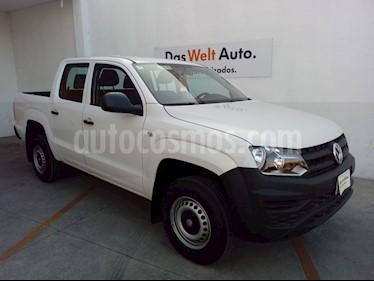 Volkswagen Amarok Trendline 4x4 TDi usado (2019) color Blanco precio $440,000