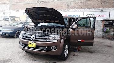 Volkswagen Amarok 2.0L BiTDI Chasis CS 4x4  usado (2013) color Marron precio u$s15,000