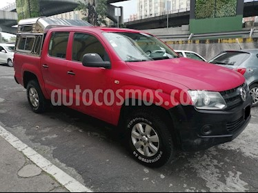 Foto Volkswagen Amarok Startline Aut 4Motion usado (2014) color Rojo precio $265,000
