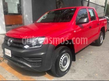 Foto Volkswagen Amarok Trendline 4x2 TDi  usado (2018) color Rojo precio $398,000