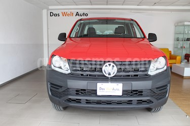 Volkswagen Amarok Trendline 4x2 TDi  usado (2018) color Rojo precio $402,000