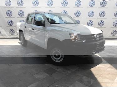 Foto venta Auto usado Volkswagen Amarok Trendline 4x4 TDi (2018) color Blanco precio $459,000