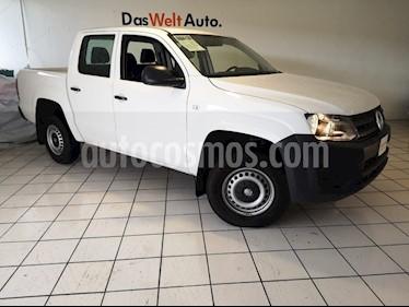 Volkswagen Amarok Trendline 4x4 TDi usado (2018) color Blanco Candy precio $399,900