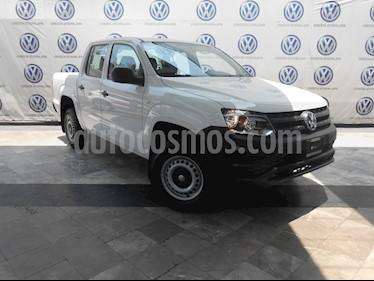 foto Volkswagen Amarok Trendline 4x4 TDi usado (2018) color Blanco Candy precio $419,000