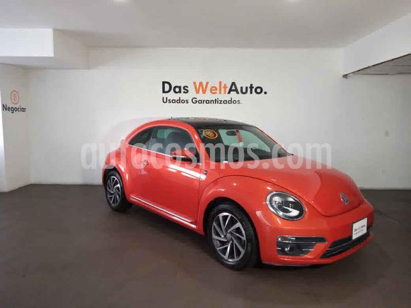 Volkswagen Beetle Sound Tiptronic usado (2018) color Naranja precio $289,000