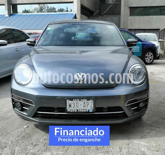 Volkswagen Beetle Sportline usado (2017) color Gris precio $62,500