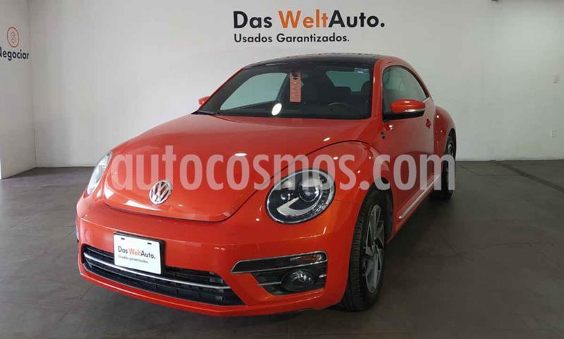 Volkswagen Beetle Sound Tiptronic usado (2018) color Naranja precio $295,000