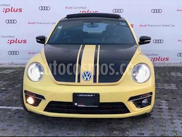 Volkswagen Beetle Turbo R Aut usado (2014) color Amarillo precio $230,010