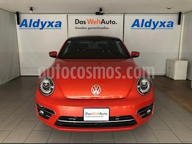 Volkswagen Beetle 2p Sound L5/2.5 Man usado (2018) color Naranja precio $310,000