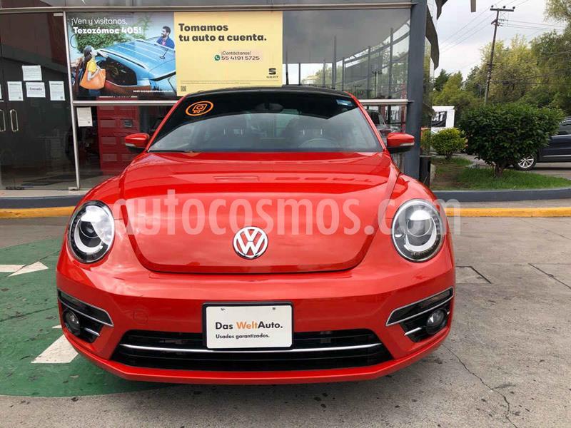 Volkswagen Beetle Sound Tiptronic usado (2018) color Naranja precio $289,990