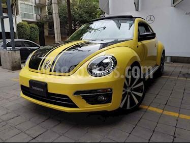 Volkswagen Beetle Turbo R usado (2014) color Amarillo precio $245,000