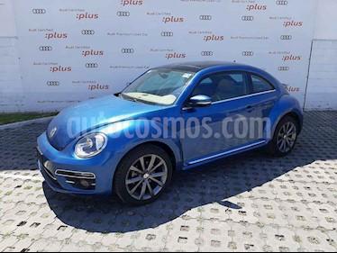 Volkswagen Beetle 2p Sportline L5/2.5 Aut usado (2017) color Azul precio $258,000
