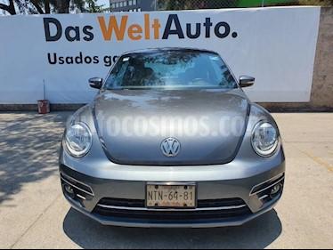 Volkswagen Beetle Sportline usado (2017) color Gris precio $245,000