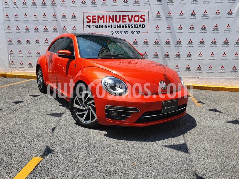 Volkswagen Beetle Sound Tiptronic usado (2018) color Naranja precio $298,000