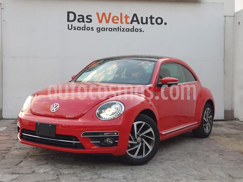Volkswagen Beetle Sound Tiptronic usado (2018) color Rojo precio $298,000