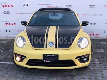 Volkswagen Beetle 2p Turbo R L4/2.0/T Aut usado (2014) color Amarillo precio $210,010