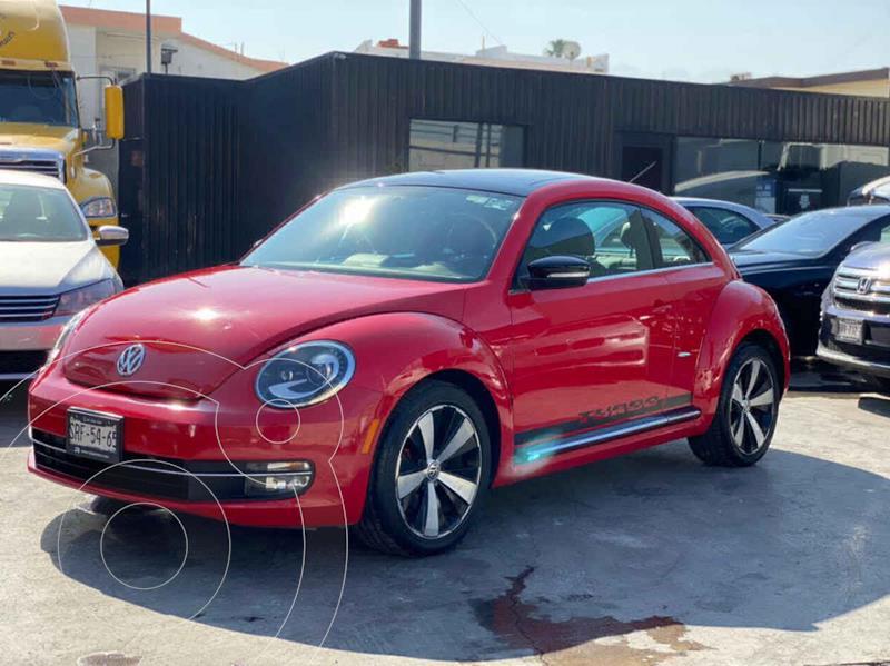 Volkswagen Beetle Turbo DSG usado (2012) color Rojo precio $179,800
