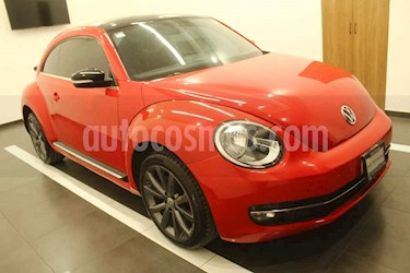 Volkswagen Beetle 2p Turbo L4/2.0/T Aut usado (2015) color Rojo precio $229,000