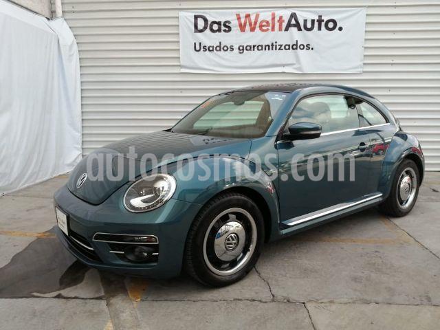 Volkswagen Beetle Turbo DSG usado (2018) color Azul precio $285,000