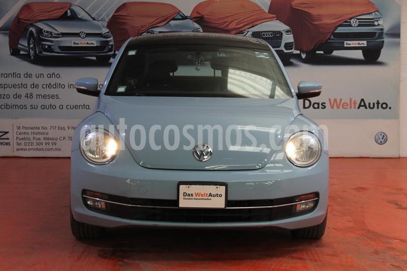 Volkswagen Beetle Sport usado (2014) color Azul Denim precio $195,000