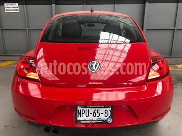 Volkswagen Beetle 3P HB SPORT 2.5L AT VE 6 CD PIEL DESCANSABRAZOS R usado (2012) color Rojo precio $149,000