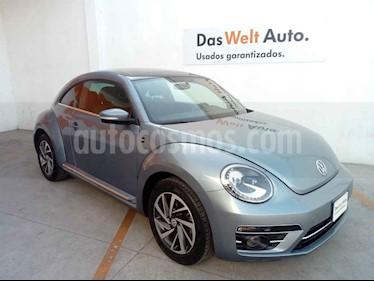 Volkswagen Beetle 2p Sound L5/2.5 Man usado (2018) color Azul precio $299,000