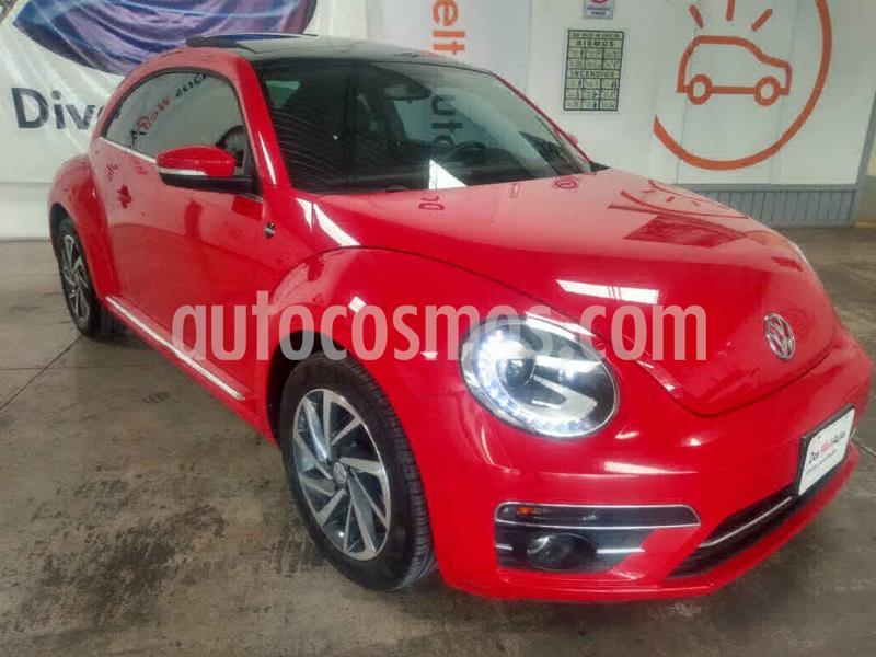 Volkswagen Beetle Sound Tiptronic usado (2018) color Rojo precio $315,000