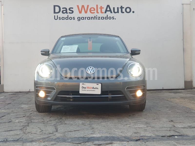 Volkswagen Beetle Sound Tiptronic usado (2018) color Gris Oscuro precio $298,000