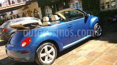 Volkswagen Beetle Cabriolet 2.0 Tiptronic usado (2009) color Azul Electrico precio $78,000