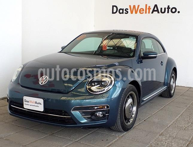 Volkswagen Beetle Coast Tiptronic usado (2018) color Azul precio $328,000