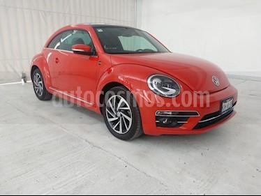 Volkswagen Beetle Sound Tiptronic usado (2018) color Naranja precio $334,900
