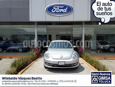 Foto venta Auto usado Volkswagen Beetle SPORT STD A/AC Q/C (2015) color Plata precio $199,000