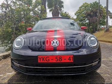 Foto venta Auto usado Volkswagen Beetle Turbo (2013) color Azul precio $175,000