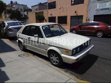 Volkswagen Cabrio automatico usado (1992) color Blanco precio $60,000