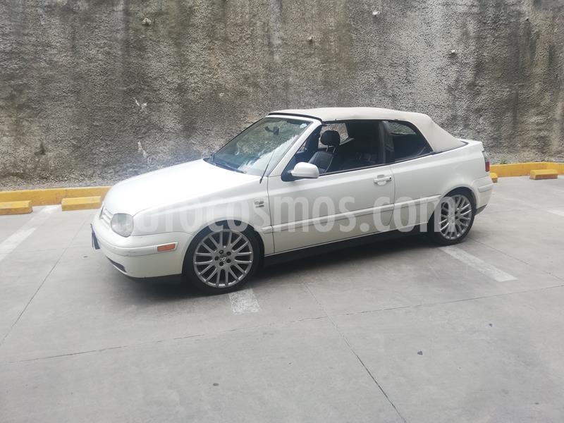 Volkswagen Cabrio equipado piel aut. usado (2001) color Blanco precio $125,000