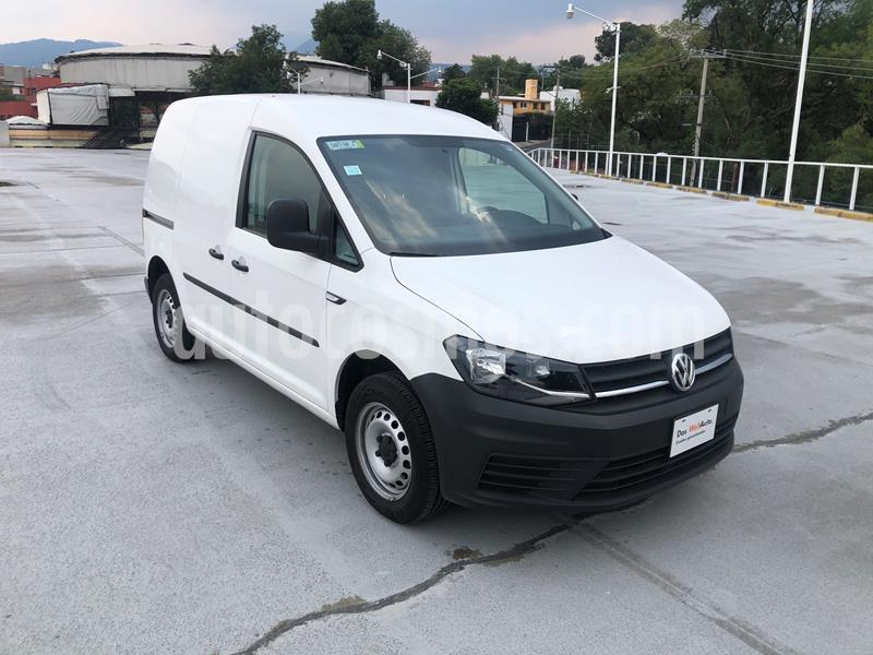 Volkswagen Caddy A/A 1.6L usado (2019) color Blanco precio $300,000