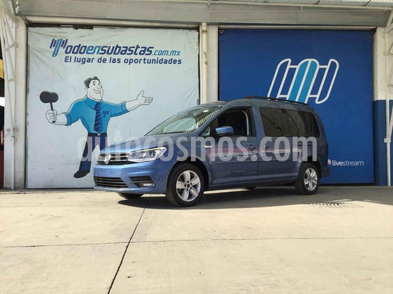 Volkswagen Caddy Maxi usado (2017) color Azul precio $132,000
