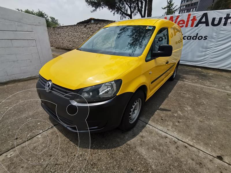 Foto Volkswagen Caddy MAXI CARGO VAN L4 1.2L 104HP MT AA usado (2015) color Amarillo precio $189,000
